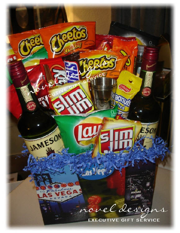 78 best vacation gift basket images on pinterest vacation gift its a jameson vacation gift basket including recipients favorite snacks beverages complete w negle Image collections