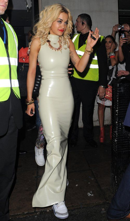 Rita Ora Celebs In Latex Leather Pinterest Sexy
