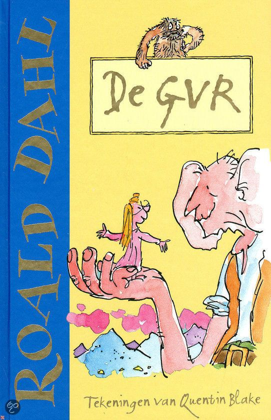 Recensie (★★★★★) van Loran over Roald Dahl - De GVR   10+   De Grote Vriendelijke REUS!   De Fontein 1983    Midden in de nacht wordt Sofie door een grote vriendelijke reus meegenomen naar Reuzenland. Samen binden ze de strijd aan tegen de mensetende reuzen.    http://www.ikvindlezenleuk.nl/2013/04/roald-dahl-de-gvr.html