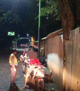 Bubarkan Balap Liar di Desa Kebonrejo Polsek Grati Amankan Pelaku Beserta Barang Bukti
