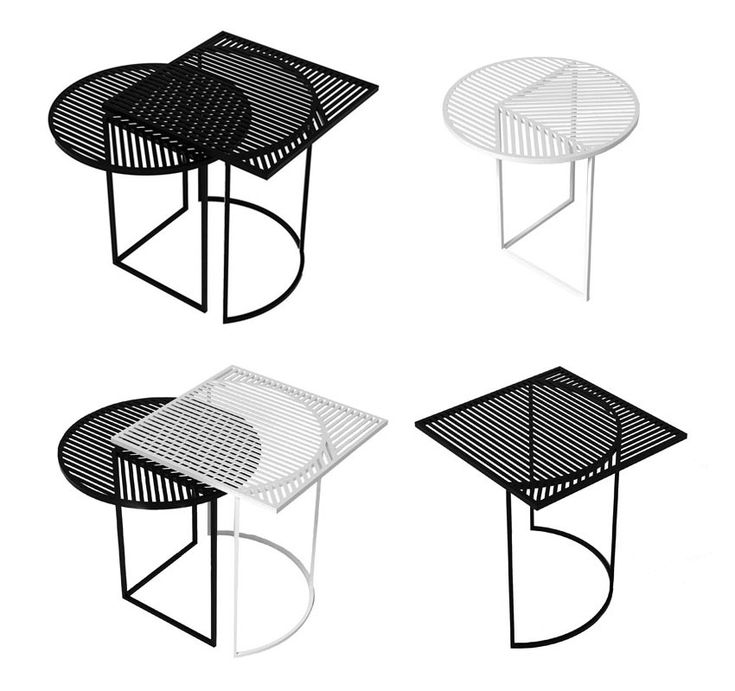 ISO A U0026 B Tables By POOL In Collaboration With Petite Friture | Http:/