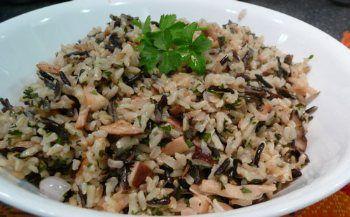 Red Lobster Restaurant Copycat Recipes: Wild Rice Pilaf