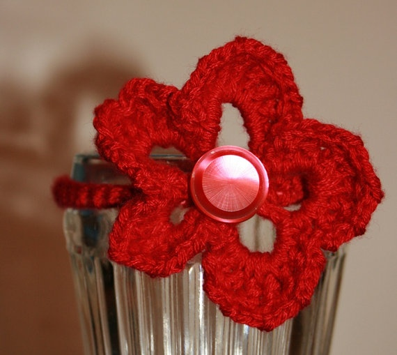 Crochet Hair Ties Pinterest : ... Crocheted Treasures Pinterest Hair ties, Crochet and Hair