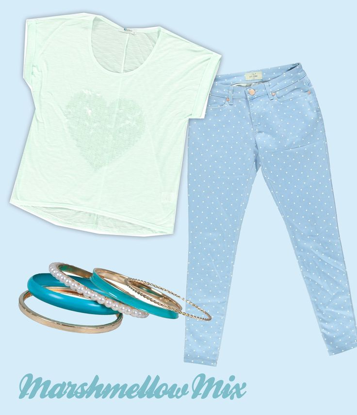 Kelso Slouchy Tee, Free2BU Ankle Grazer, Edgars Blue and Pearl Bangles (all available @ Edgars)