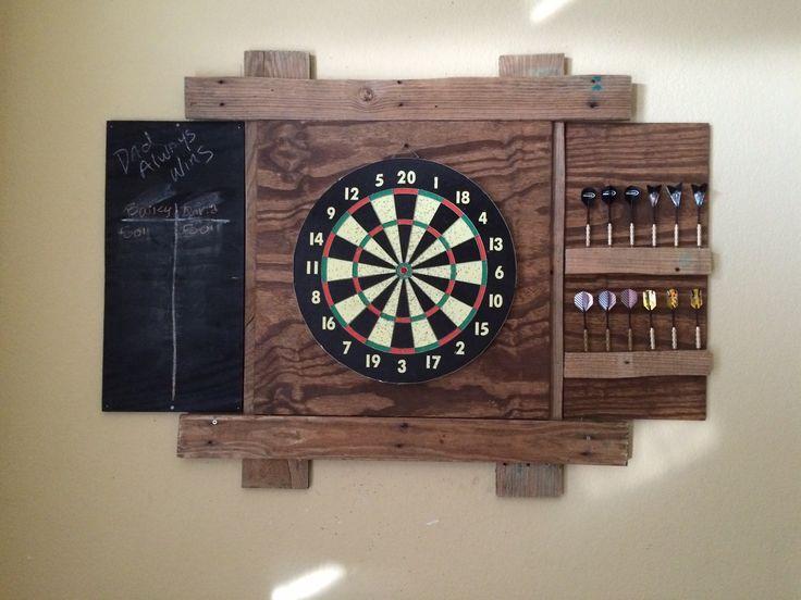 Rustic Pallet Dartboard