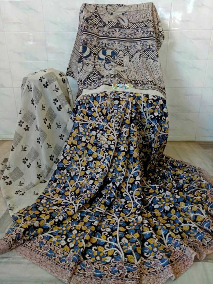 Kalamkari silk cotton sarees. Click here to buy https://www.moifash.com/south-ethnicz/product?id=58db528c753d882d543cc7f3