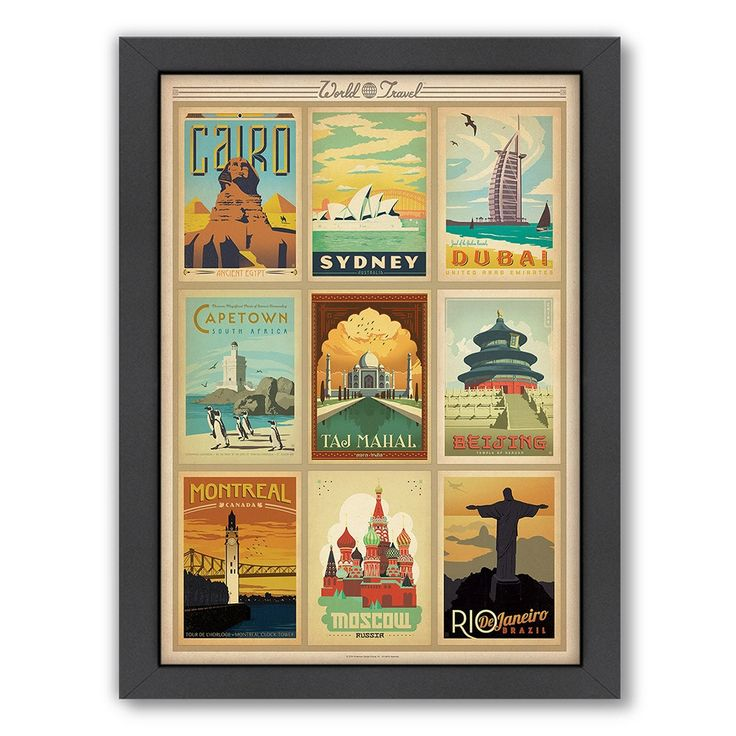 World Travel II Poster