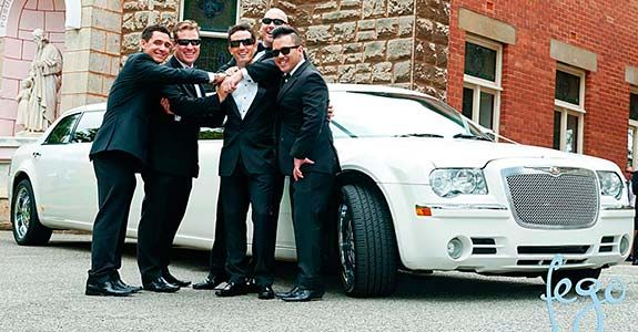 10-Passenger-White-Chrysler-Limo-Hire-Perth-at-St-Michael-the-arc-angel-subiaco-perth-wicked-limos-perth