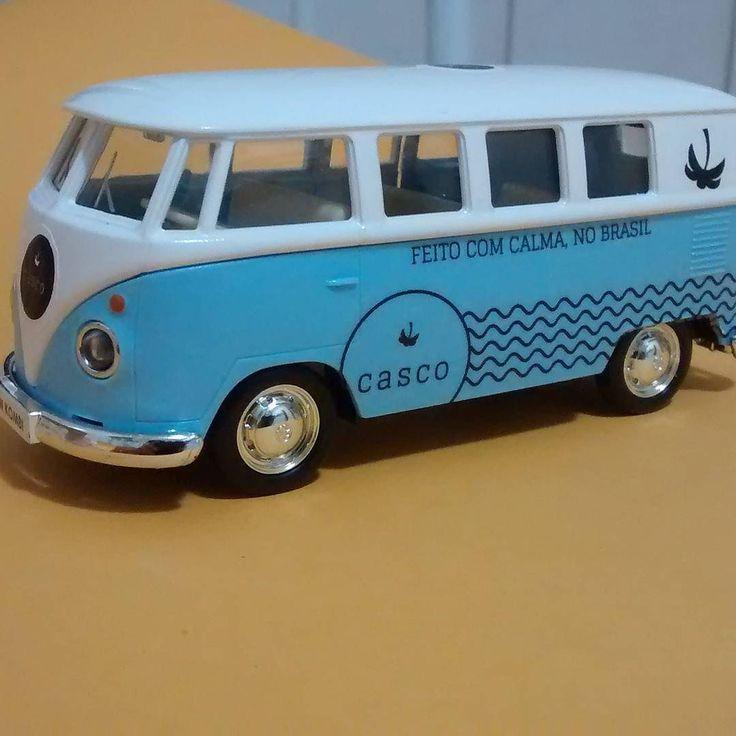 Miniaturas criativas #casco #miniaturascriativas #kombi