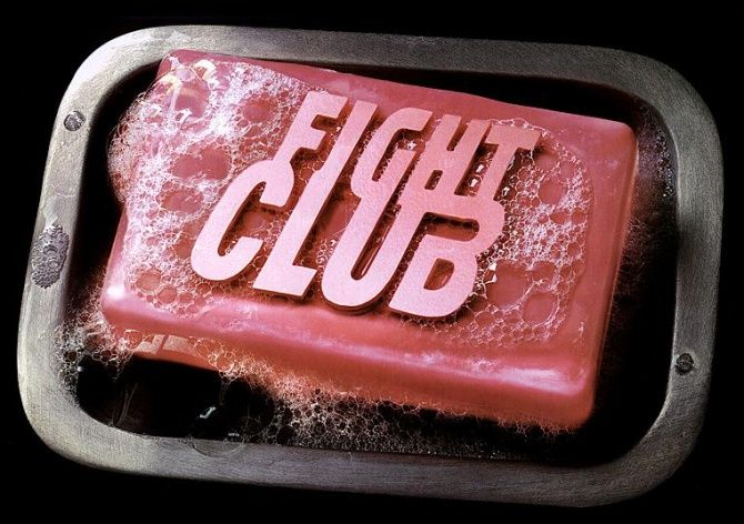 Fight Club. besides Interview With The Vampire, it's the only Brad Pitt movie that i like. but i love them both but not because of Brad. i love FC because of Edward Norton.