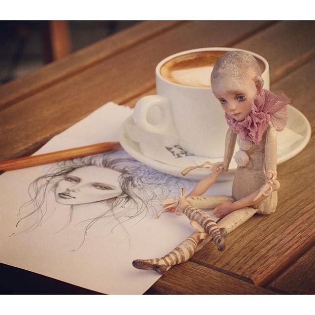 Helena Oplakanska  @oplakanska #истории_малыша_пипа #зарисовкинатеррасе Инстаграм фото | Stapico (Webstagram)