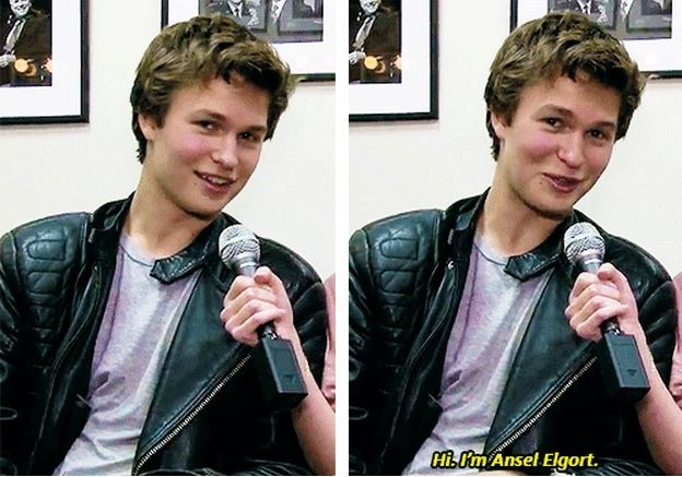 Ansel Elgort aka Caleb Prior aka Augustus Waters aka Tommy Ross or something from Carrie