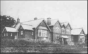 Tredegar Hospital Walter Conway was an extremely intelligent man who thought of helping others more than helping himself. He pioneered the Medical Aid Society wherby for a small weekly donation from their wages, workmen would receive free medical help when it was required. This scheme was the forerunner of the National Health Service, introduced by another Tredegar personality, Mr Aneurin Bevan in 1948.