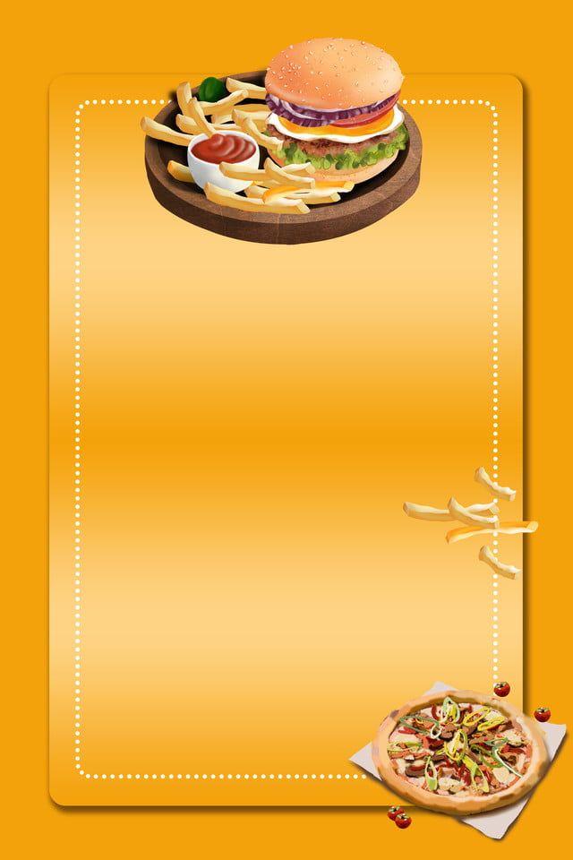 Menu De Restaurante De Comida Rapida Cartel Publicitario Material De Antecedentes Vegan Fast Food Food Menu Restaurant