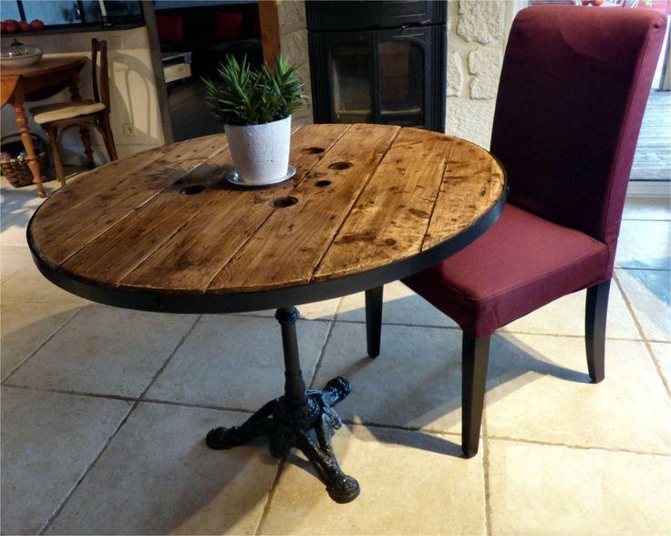 1000 id es sur le th me pied de table metal sur pinterest - Pieds de table en fonte ...