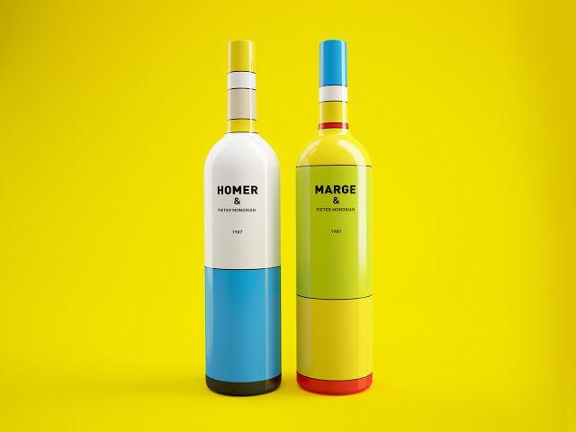 思わず手に取っちゃいそうなオシャレなデザインボトル - 家ワイン
