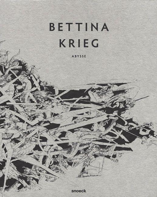 Con su primera publicación Bettina Krieg con dibujos a pluma y tinta en blanco y negro nos introduce mediante una miriada de imágenes sorprendentes e impresionantes sin embargo su obra se orienta siempre hacia un orden superior