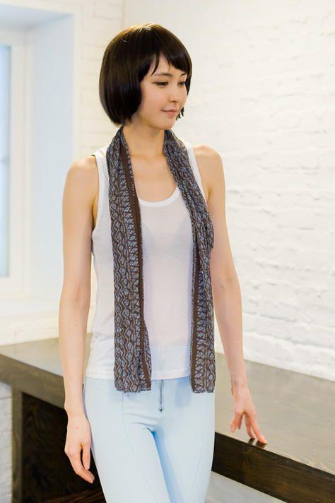 scarf set tee from Kakuu Basic. Saved to Kakuu Basic Tees & Tops. Shop more products from Kakuu Basic on Wanelo.