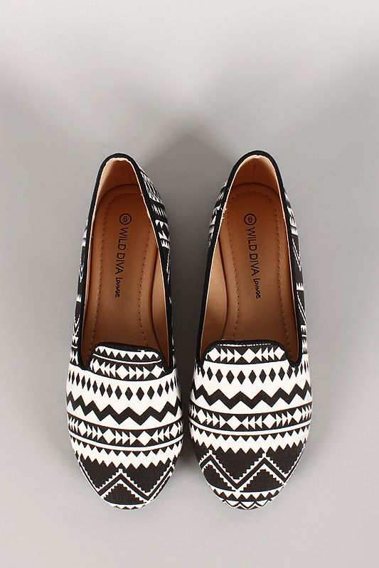 $16 for cute tribal flats? WE are down!