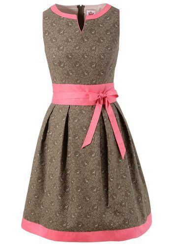 Spieth & Wensky Trachtenkleid Damen mit Streublumenprint ab 119,99€. Traditionelles Baumwollkleid mit Streublumenprint bei OTTO