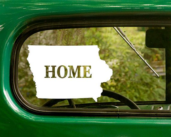 Best State Home Decals For Your Car Tuck Laptop Windows - Vinyl decals for your car