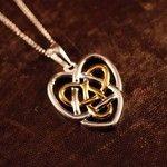 Celtic Sister's KnotTattoo Ideas, Irish Jewelry, Celtic Knots, Celtic Heart Sisters, Celtic Sisters, Things, Knots Necklaces, Sisters Tattoo, Sisters Knots