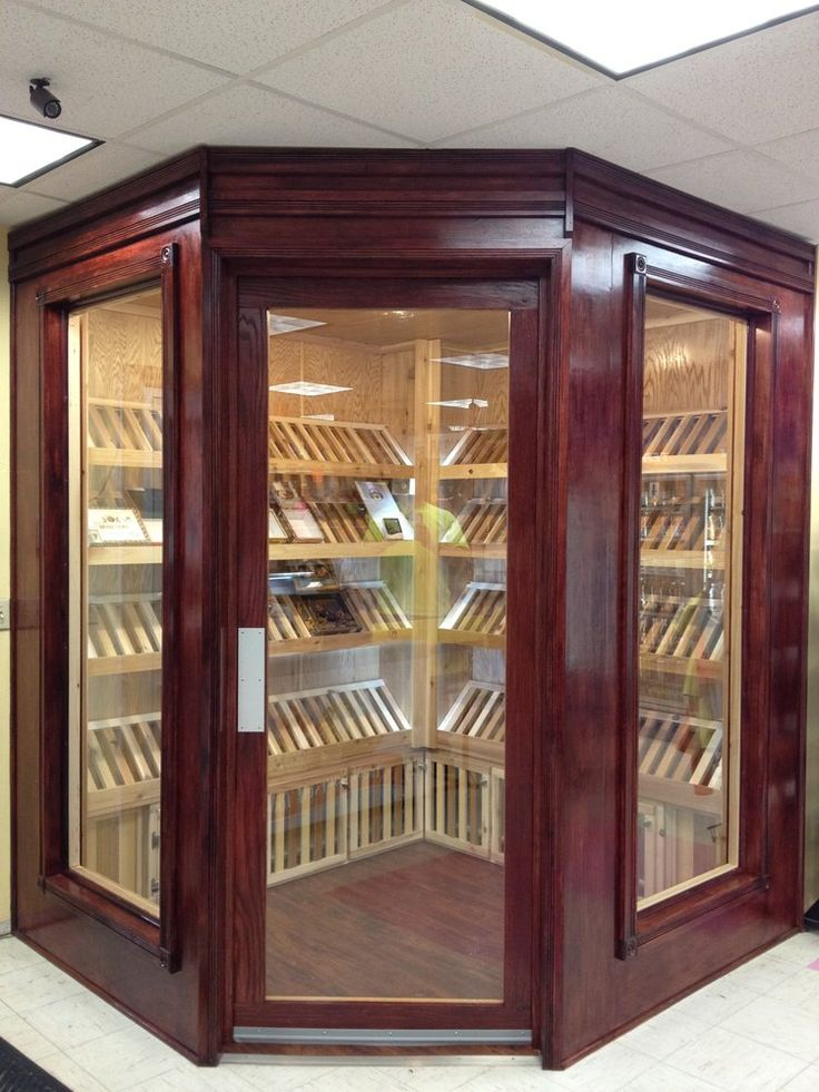 walk in humidor - Google Search