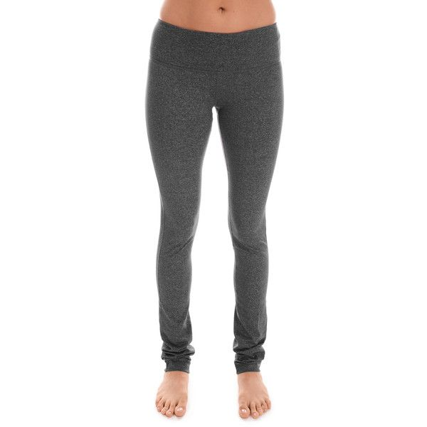 90 Degree by Reflex Heather Charcoal Bootcut Leggings ($20) ❤ liked on Polyvore featuring pants, leggings, stretchy leggings, stretch trousers, boot cut leggings, stretch pants and charcoal gray leggings