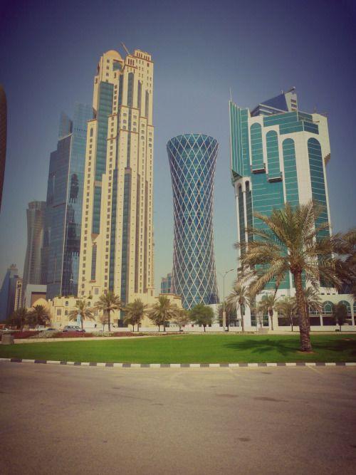 Qatar - Skyline of Doha