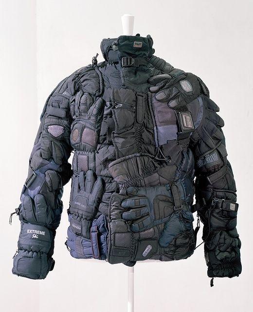 Куртка из лыжных перчаток Maison Martin Margiela