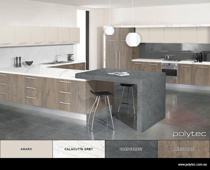 New modern kitchen colours