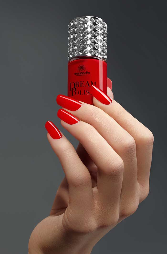 Dream Collection #alessandro #nails #red #love