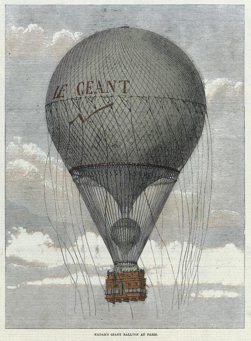 Felix+Nadar+Le+Geant+Balloon.jpg (490×664)