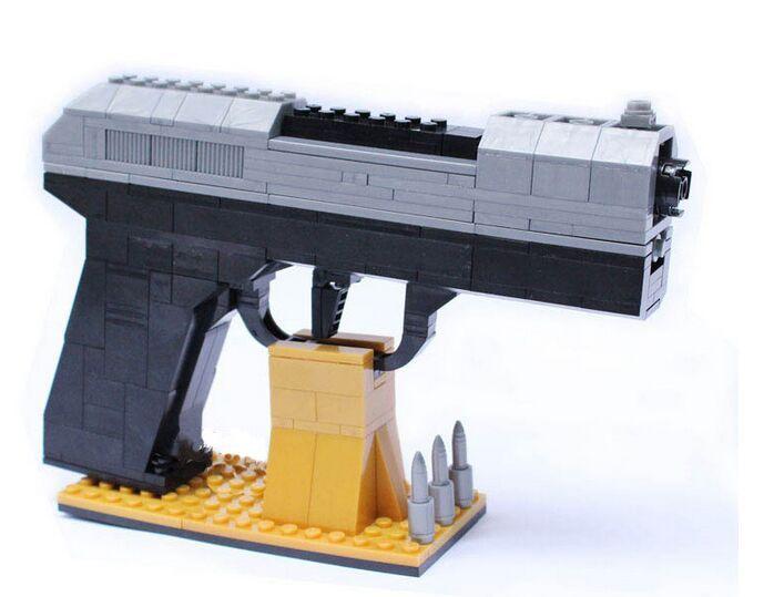 Новая Военная сериалы Армии Пистолеты Air Gun Просвещения Building Block Набор 3D Строительного Кирпича Игрушки Обучающие Блок игрушки купить на AliExpress