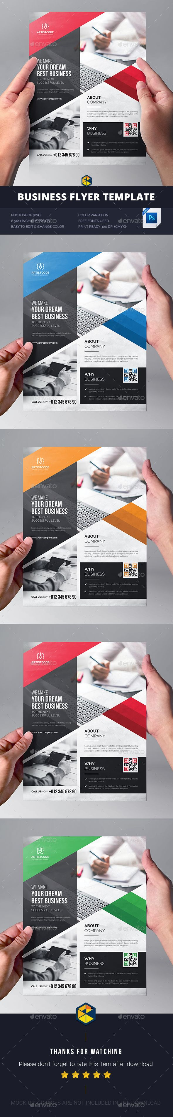 Corporate Business Flyer Template PSD. Download here: https://graphicriver.net/item/corporate-business-flyer/17519271?ref=ksioks