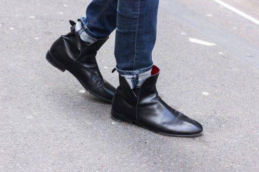 Look tweed homme - Boots Swan Exclusif Paris -  http://www.exclusifchaussures.fr/bottines-homme-swan-523.htm
