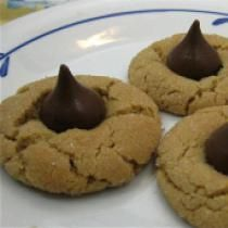 Peanut Blossom Cookies: Peanut Blossom Cookies, good and go to