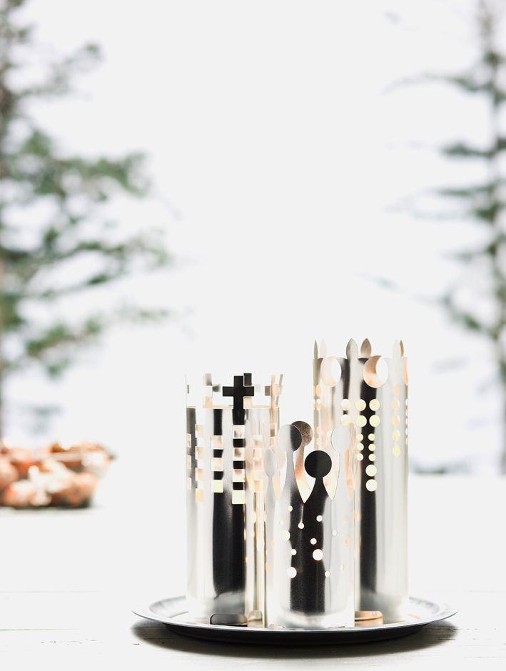 Hellige Tre Konger Sølv, fyrfad / Produkter / Katalog / Magento administration