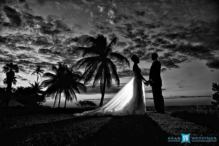 Here is one from my own wedding in Jamaica!