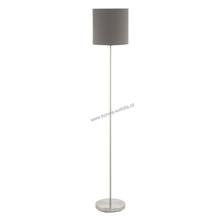 Eglo 95165 PASTERI antracit - Stojanová textilní lampa