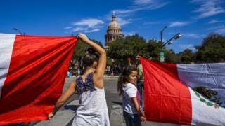 Texas legislators scuffle after Republican calls immigration agents