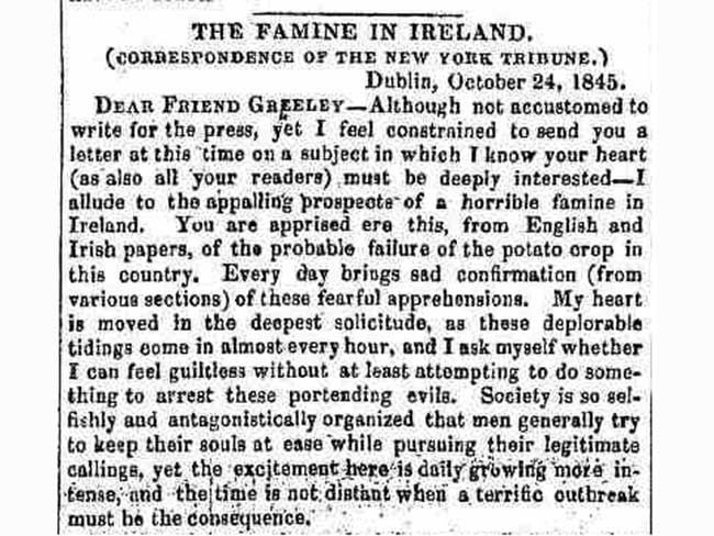 the irish potato famine and emigration essay Irish potato famine: ireland's population dropped from eight million to five million due to famine, disease, and emigration irish archives search papers.
