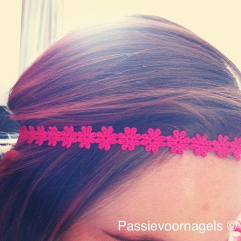 zelf haarband maken