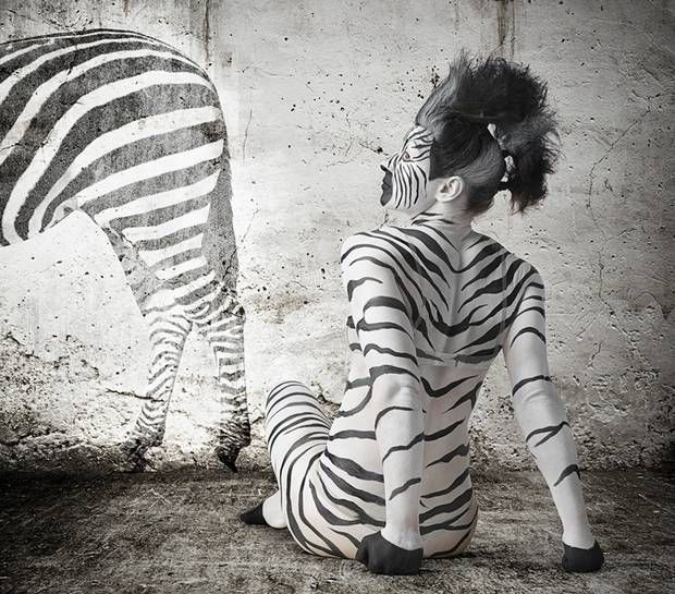 Alice Richardson is the zebra - The Independent