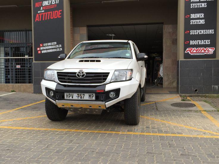Rhino 4×4 | Toyota Hilux 2012 Front Evolution Bumper