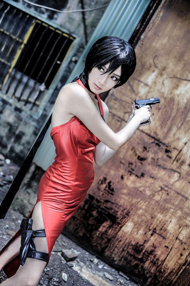 エイダ・ウォン(バイオハザード4)   Yezi Resident Evil Cosplay - Ada Wong?