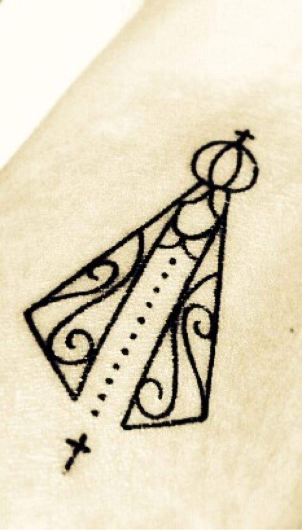 Nossa Senhora Aparecida | Tatuagem.com (tatuagens, tattoo)