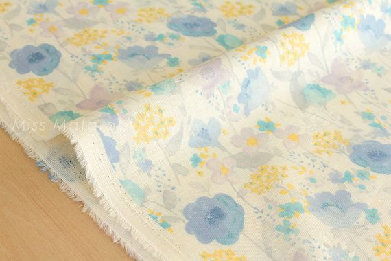 100% cotton double gauze by Yuwa  Lightweight double gauze  1/2 metre (50cm x 110cm , 19 x 43)  If you would like continuous yardage please change