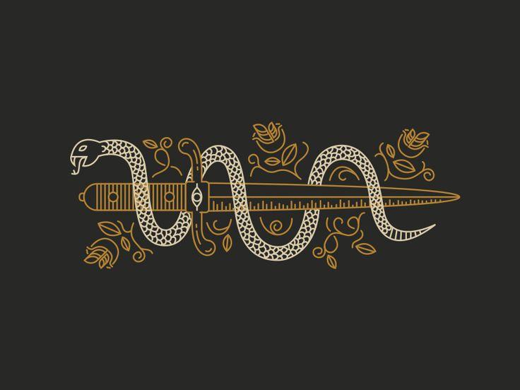 Snake & Dagger by Benjamin Garner                                                                                                                                                      More