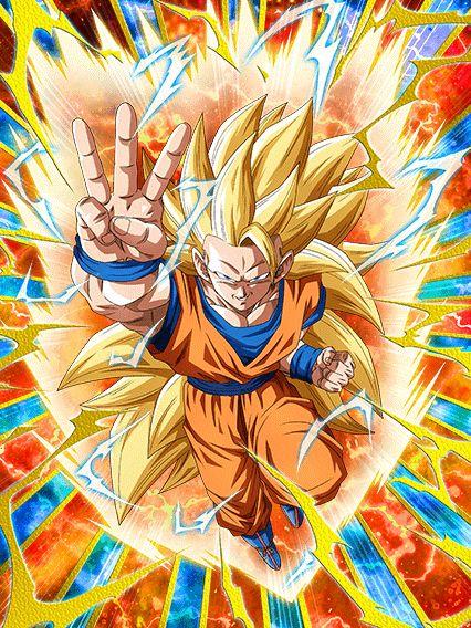 [Toward a Distant World] Super Saiyan 3 Goku/Dragon Ball Z: Dokkan Battle(Japanese Version)
